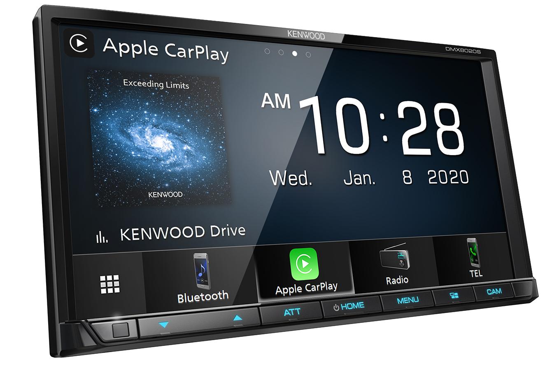 "Kenwood DMX8020S Digital Media Receiver with 7.0"" WVGA Display"