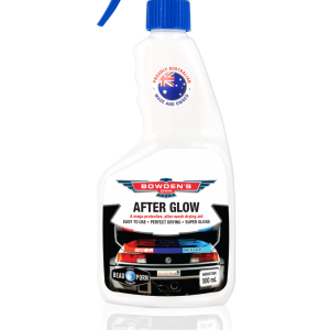 BOWDENS OWN After Glow A mega protective, after-wash drying aid.