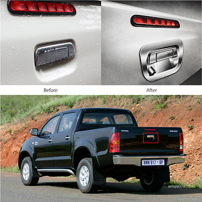 Tailgate Surround with Integrated Camera – Hilux/Ranger CCD-TTH170