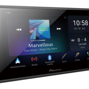 """Pioneer Dmhz6350bt Capacitive Touch-screen """"Short Chassis"""" Multimedia player with Apple CarPlay, Android Auto & Alexa Built In."""