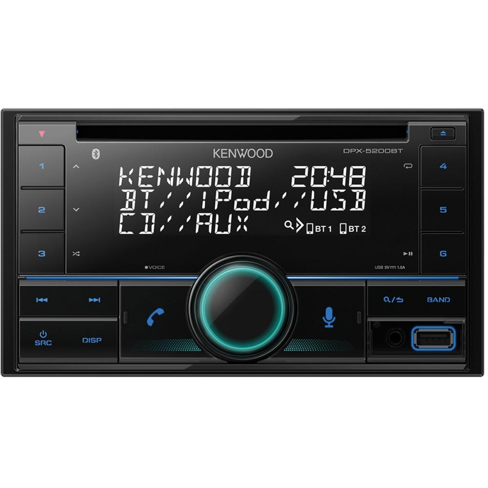 Kenwood  DPX-5200BT Dual Din USB / CD Reveiver