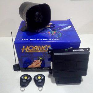 Hornet 433H Car Alarm Security System 3 PT Immobiliser