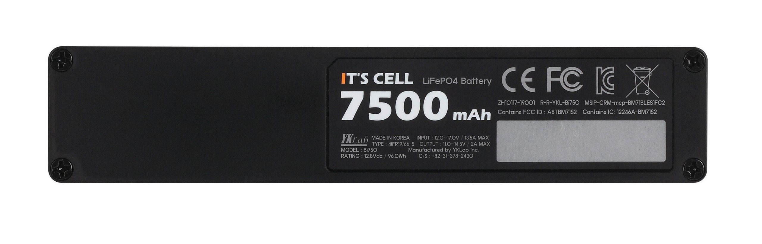It's Cell Bi-750 Battery Pack
