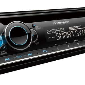 Pioneer DEH-S5250BT Car Stereo with Dual Bluetooth, Spotify Connect, USB/AUX & Advanced Smartphone Connectivity.