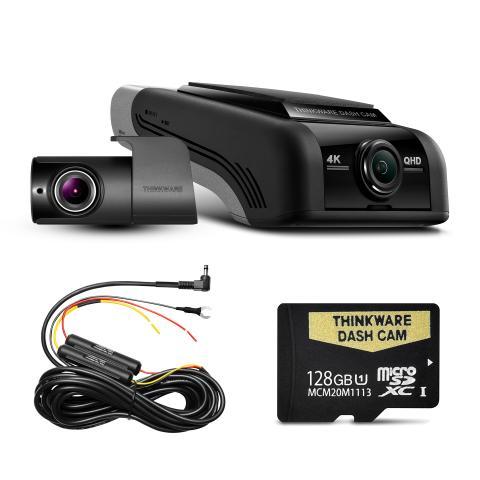 THINKWARE U4KD128 FRONT & REAR DASH CAM (U1000) - 128GB