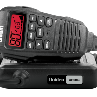 Uniden UH6060 Mini Compact UHF CB Mobile With Remote Speaker Microphone