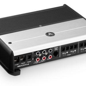JL Audio XD400/4v2 4 Ch. Class D Full-Range Amplifier, 400 W