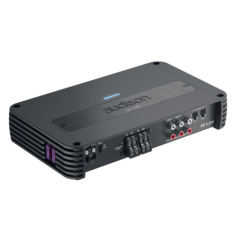 Audison SR 4.500 4 CH AMPLIFIER WITH CROSSOVER