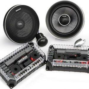 Kicker QSS65 QS-Series 4-ohm 6.5 Inch Component Speakers