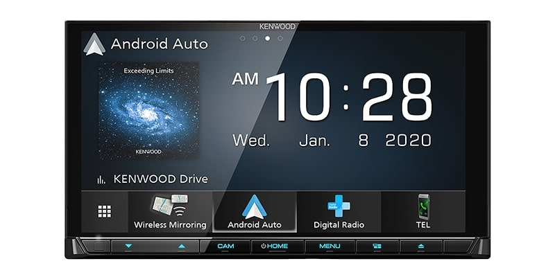 KENWOOD DDX9020DABS AV Receiver with 6.8 inch High Definition Display 2020 MODEL