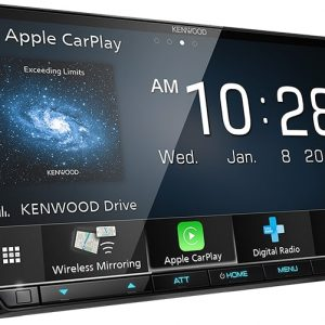 """Kenwood DMX8520DABS Digital Media Receiver with 7.0"""" WVGA Display"""