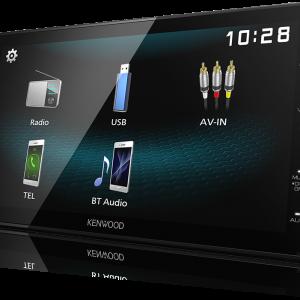 "Kenwood DMX1025BT Digital Media Receiver with 6.8"" WVGA Capacitive Display"
