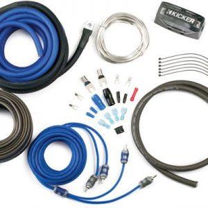 Kicker 8AWG 2-Channel Amp Kit
