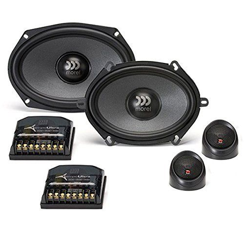 """Morel Tempo Ultra 692 - Two Way 6x9"""" Car Audio Component Speaker Set."""