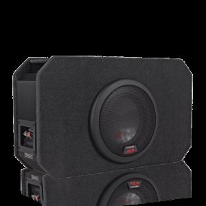 "Alpine SBR-S8D4 8""  High Output Compact Enclosure"